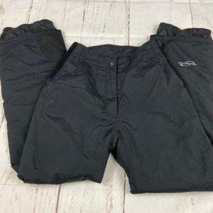 Obermeyer winter snow ski wicking black pants